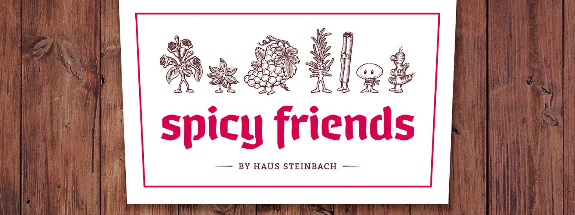 Spicy Friends Schild